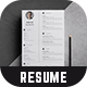 Resume - Doe - - GraphicRiver Item for Sale