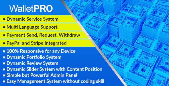 WalletPRO - Dynamic Payment Gateway - CodeCanyon Item for Sale