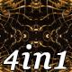 Gold Spring - VJ Loop Pack (4in1) - VideoHive Item for Sale