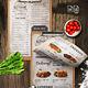 Vintage Food Menu - GraphicRiver Item for Sale