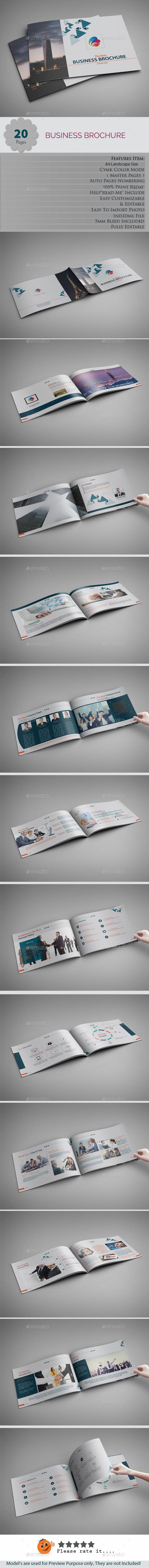Landscape Brochures - Brochures Print Templates