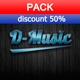 Hip Hop Lounge Background Pack - AudioJungle Item for Sale