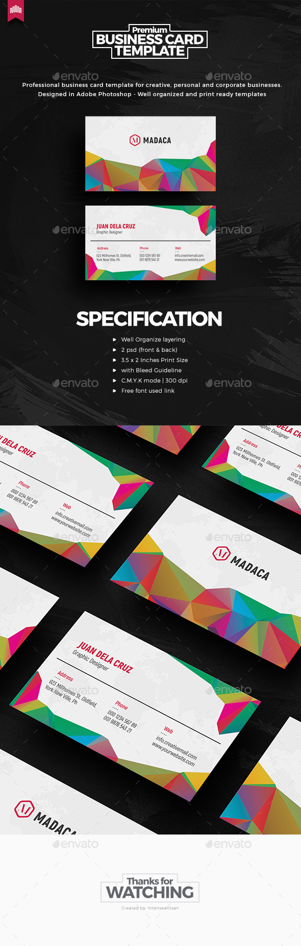 Creative - Pro Business Card v.6 - Creative Business Cards
