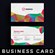 Creative - Pro Business Card v.6 - GraphicRiver Item for Sale