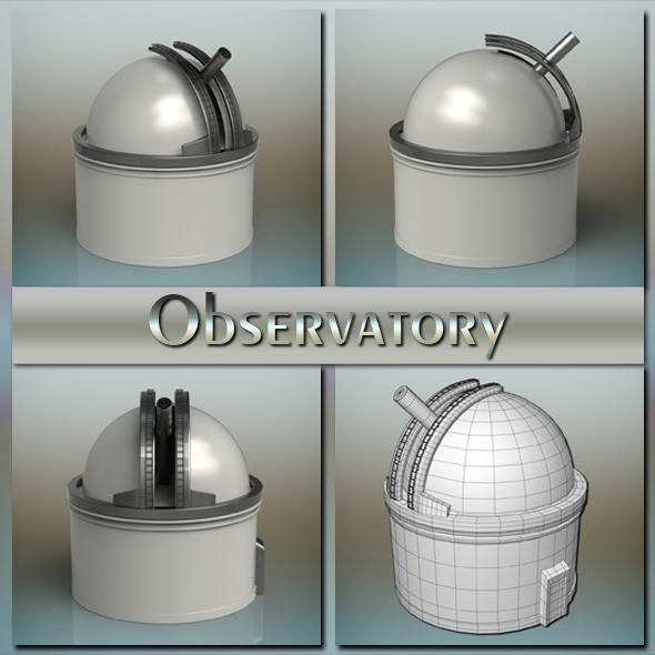Observatory - 3DOcean Item for Sale