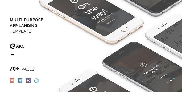 CAIO - Multipurpose App Landing Template