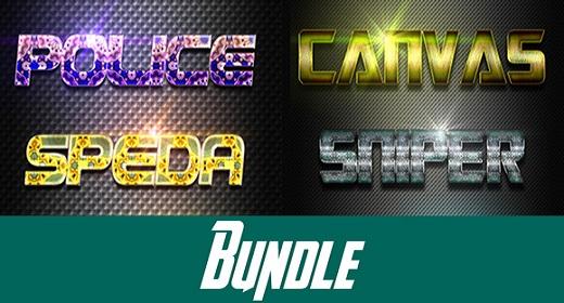 Bundle Text Effect Styles