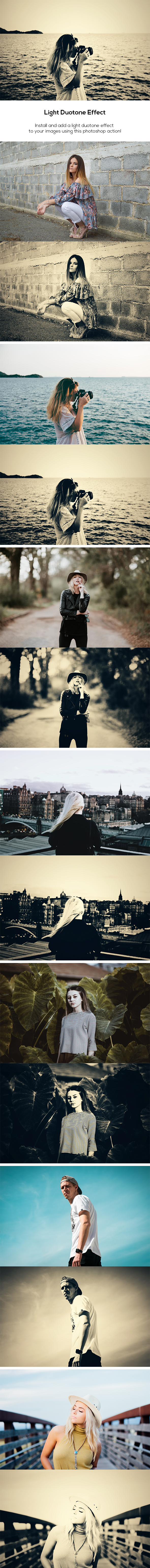 Light Duotone Effect - Photo Effects Actions