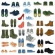 Set of 37 Shoe Illustrations - GraphicRiver Item for Sale