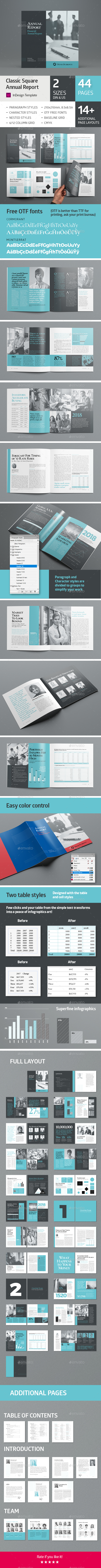 Square Annual Report 44 pages - Corporate Brochures