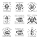 Set of Firefighter in Monochrome Style Logos - GraphicRiver Item for Sale