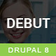 Debut - The Multi-Purpose Responsive Drupal 8 Theme Nulled