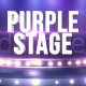 Purple Stage - VideoHive Item for Sale