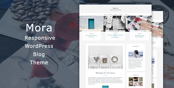 Mora - Responsive WordPress Blog Theme - Blog / Magazine WordPress