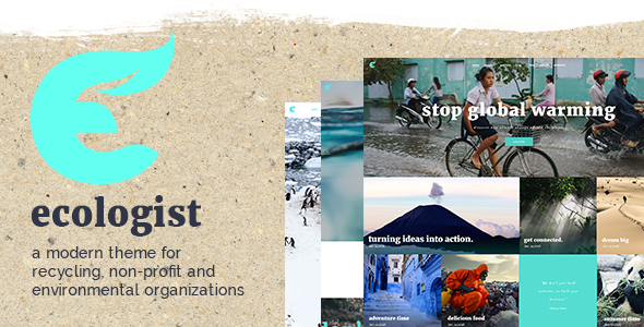Ecologist – A Modern Environmental, Non-profit and Recycling Theme (Environmental) images