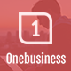 Onebusiness - One Page HTML Template Nulled