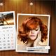 Customizable Calendar 2018 Photo Frame V07