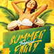 Tropical Summer Party Flyer - GraphicRiver Item for Sale