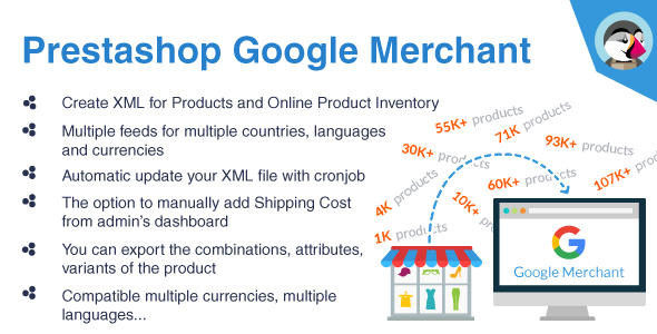 Prestashop Google Merchant - Google Shopping Module - CodeCanyon Item for Sale