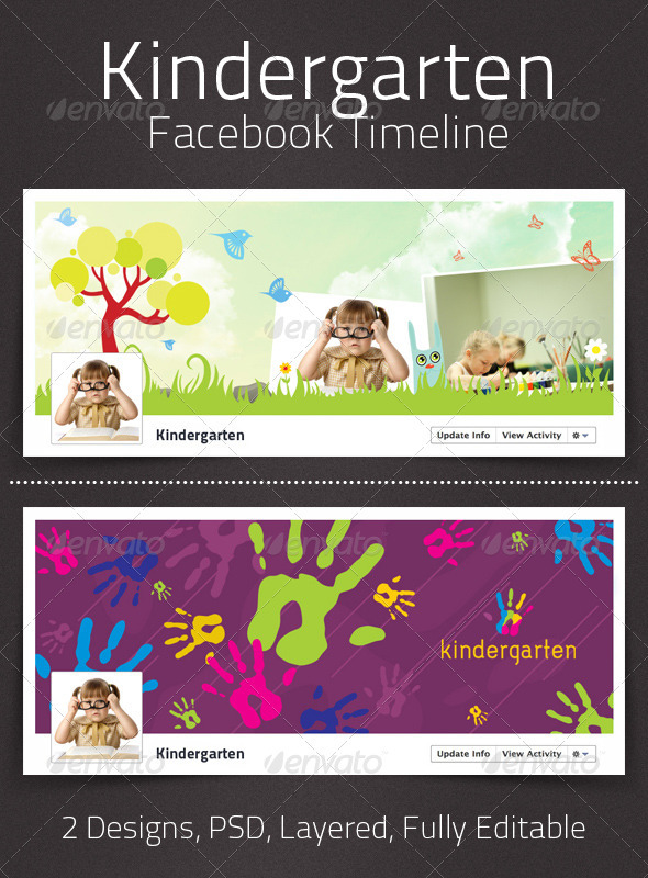 Kindergarten Facebook Timeline - Facebook Timeline Covers Social Media