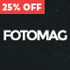 Fotomag - A Silky Minimalist Blogging Magazine WordPress Theme For Visual Storytelling Nulled
