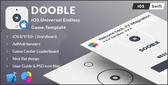 DOOBLE | iOS Universal Game Board Template (Swift) - CodeCanyon Item for Sale