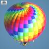 Hot air balloon 590 0007.  thumbnail