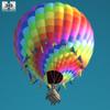 Hot air balloon 590 0008.  thumbnail