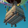 Hot air balloon 590 0010.  thumbnail