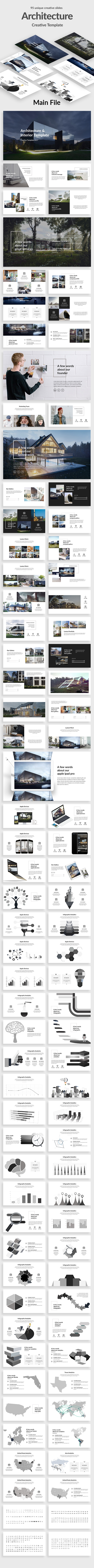 Architecture and Interior Google Slide Template - Google Slides Presentation Templates