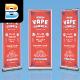Vape Summer Roll Up Banner - GraphicRiver Item for Sale