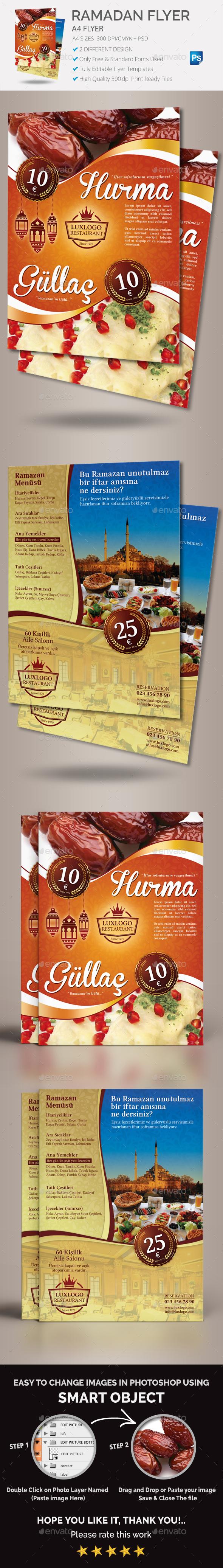 Ramadan Restaurant Flyer