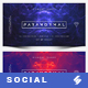 Electronic Music Party vol.22 - Facebook Post Banner Templates