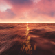 Sunset Ocean and Moving Clouds - VideoHive Item for Sale