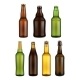 Beer Bottle Glass Isolated on White Background. - GraphicRiver Item for Sale