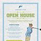 Golf Course Open House Flyer