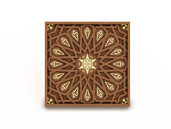 Islamic pattern A - 3DOcean Item for Sale