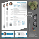 Resume CV Set - GraphicRiver Item for Sale