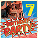 Comic Style Birthday Flyer - GraphicRiver Item for Sale