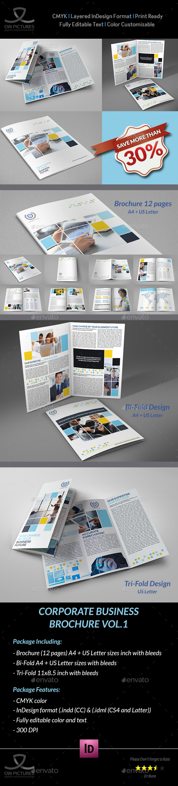 Company Brochure Bundle Vol.1 - Corporate Brochures