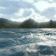 Sea and Moving Clouds - VideoHive Item for Sale
