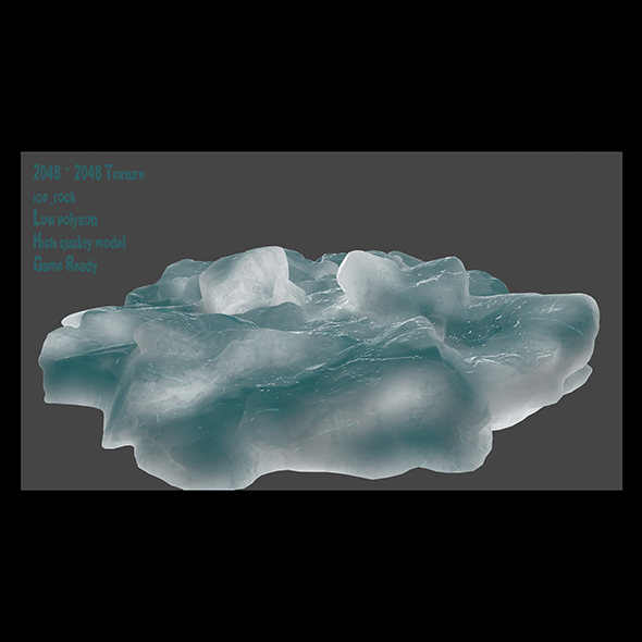 ice - 3DOcean Item for Sale