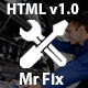 Mr Fix - Car Repair Service HTML5 Template Nulled