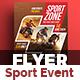 Sport Event Flyer Template