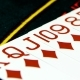 Deck of Cards Laid Out on Casino Table, - VideoHive Item for Sale
