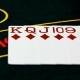Camera Moves Across Deck of Cards Laid Out on Table - VideoHive Item for Sale