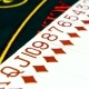 Cards Are Spread Out on Green Poker Table, - VideoHive Item for Sale