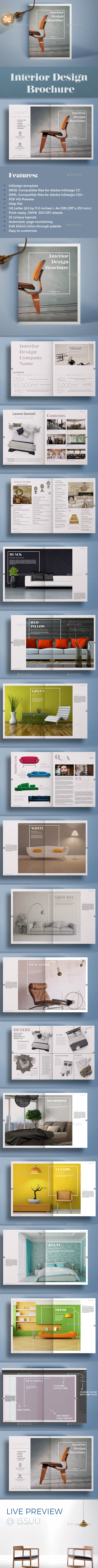 Interior Design Brochure - Catalogs Brochures