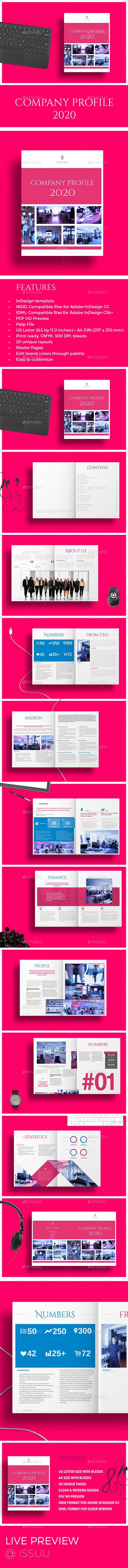 Company Profile 2020 - Corporate Brochures