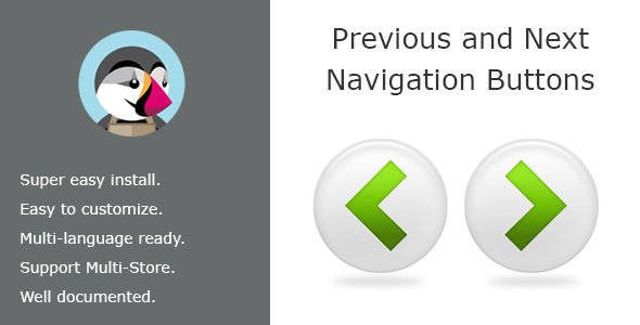 Previous and Next navigation buttons to the product page - CodeCanyon Item for Sale